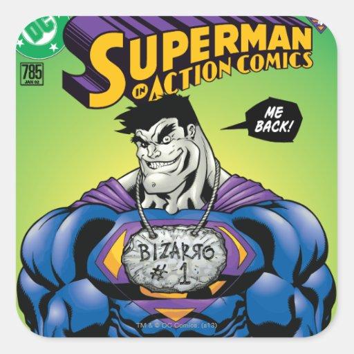 Action Comics #785 Jan 02 Stickers