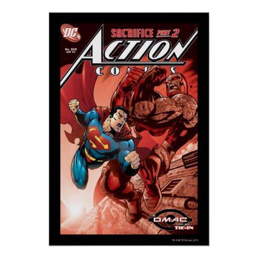 Action Comics #829 Sep 05 Posters