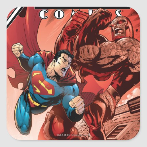 Action Comics #829 Sep 05 Square Sticker