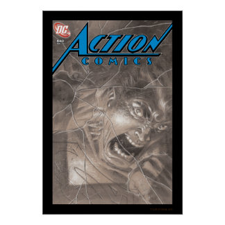 Action Comics #840 Aug 06 Poster