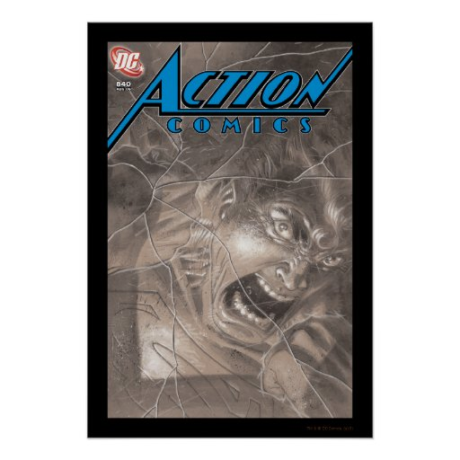 Action Comics #840 Aug 06 Posters