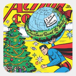 Action Comics 93 Square Stickers