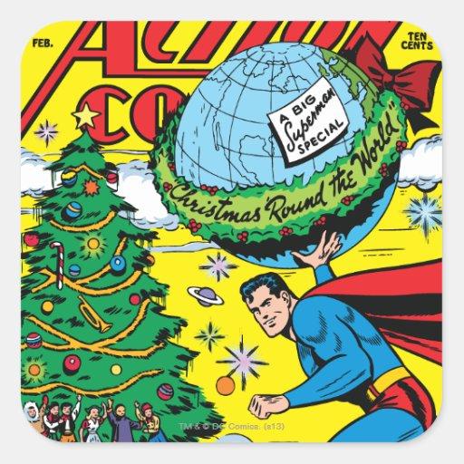 Action Comics #93 Square Stickers