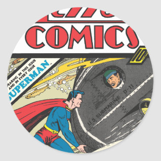 Action Comics - August 1939 Stickers