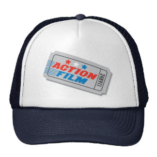 Action Film Movie Ticket Hat