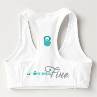 Action Fitness Fine Sports Bra