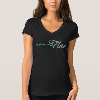 Action Fitness Fine Women's T-Shirt - Front