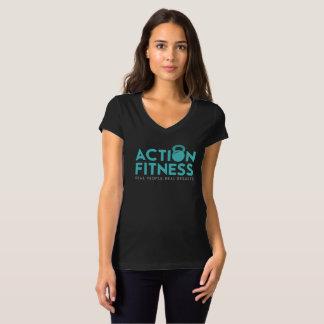 Action Fitness Logo Shirt - Front/Back