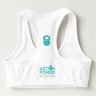 Action Fitness Woman Sports Bra