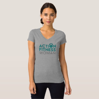 Action Fitness Woman T-Shirt - Front