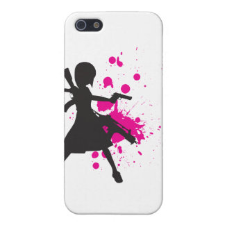 Action Girl iPhone 5/5S Case