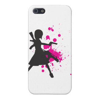 Action Girl iPhone 5/5S Cover