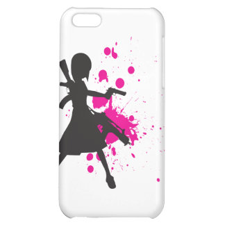 Action Girl iPhone 5C Cases