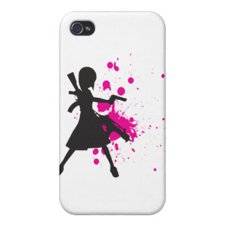 Action Girl iPhone 4 Covers