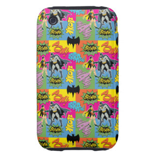 Action Handshake Pattern iPhone 3 Tough Cases