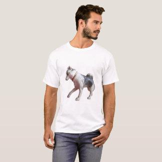 Action Man Husky Dog Arctic Explorer T Shirt. T-Shirt