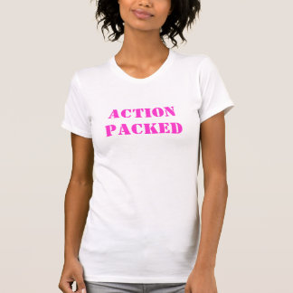 ACTION PACKED T SHIRT