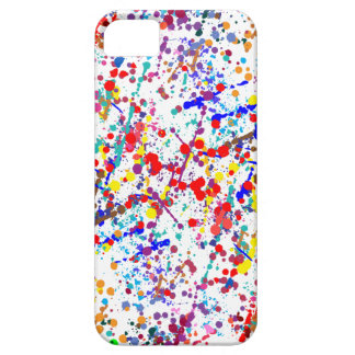 Action Painting Splatter Art Case For The iPhone 5