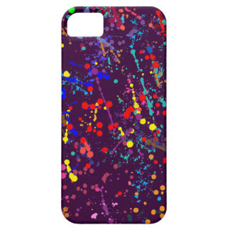 Action Painting Splatter Art iPhone 5 Covers