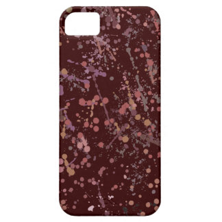 Action Painting Splatter Art iPhone 5 Cover