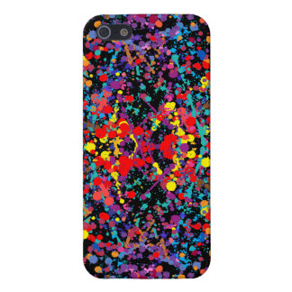 Action Painting Splatter Art Covers For iPhone 5