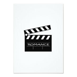 Action - romance movie. card