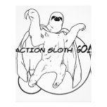 Action Sloth, Go! Full Color Flyer