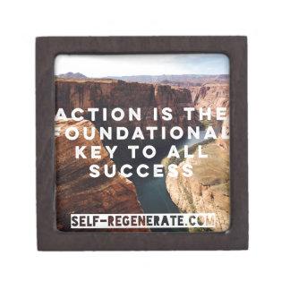 Action Success Premium Trinket Box