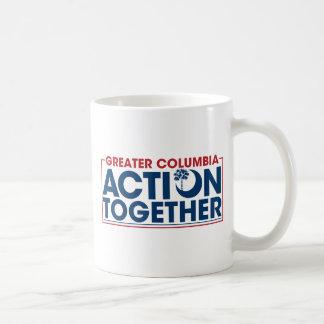 ACTION TOGETHER LOGO COFFEE MUG