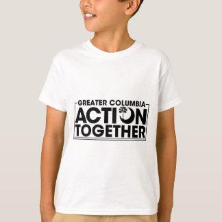 ACTION TOGETHER logo T-Shirt