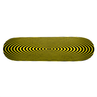 Action Yellow Skate Board Deck