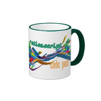 ActionScript- Multicolor Double Arch Ringer Mug