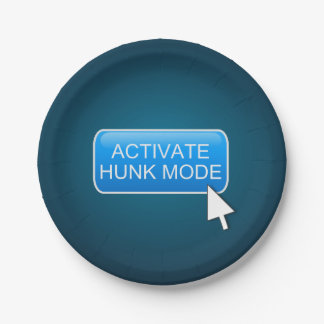 Activate hunk mode. paper plate