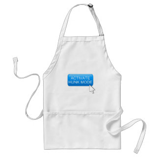 Activate hunk mode. standard apron