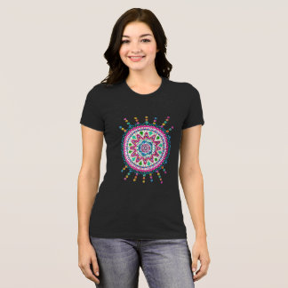 Activating Abundance Mandala Ladies T Shirt