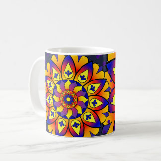Activating Confidence Healing Mandala Art Mug