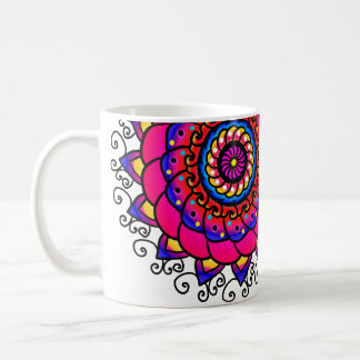 Activating Intuition Healing Mandala Pretty Mug