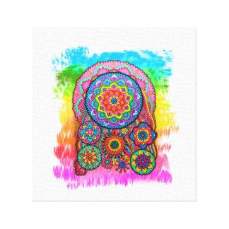 Activating Peace Healing Mandala Art Canvas
