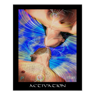 Activation (16 by 20) poster