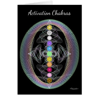 Activation Chakras Card