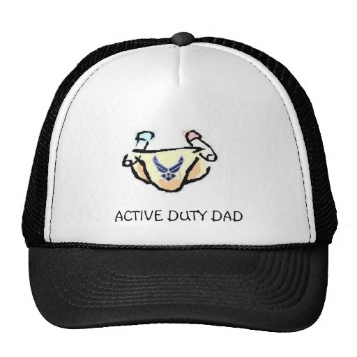 Active Duty Air Force Mesh Hats