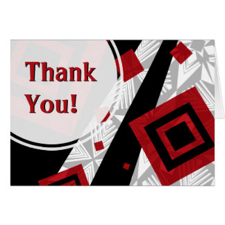 Active Pattern Thank You Card