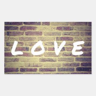 Activism love sticker