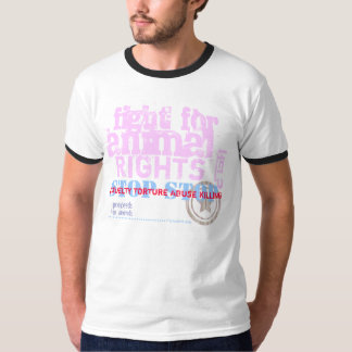 ACTIVIST - fight for animal rights - T-Shirt