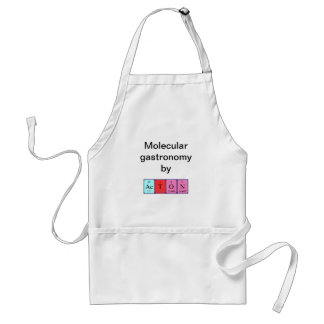 Acton periodic table name apron