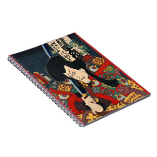 Actor Aku Hichibei 1863 Notebook
