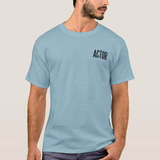 Actor classic basic T.Shirt (stonewashed blue) T-Shirt