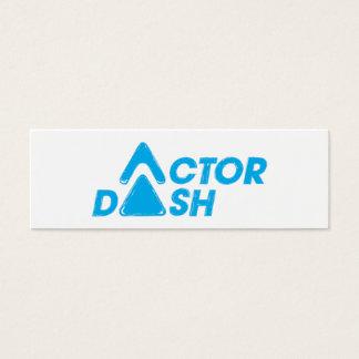 Actor Dash Mini Business Card