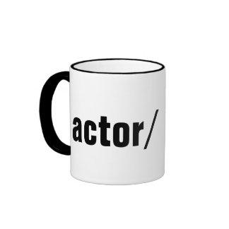 actor/ ringer mug