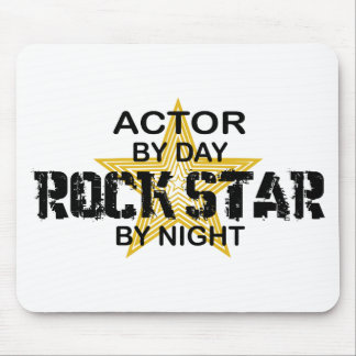 Actor Rock Star by Night Mouse Pad